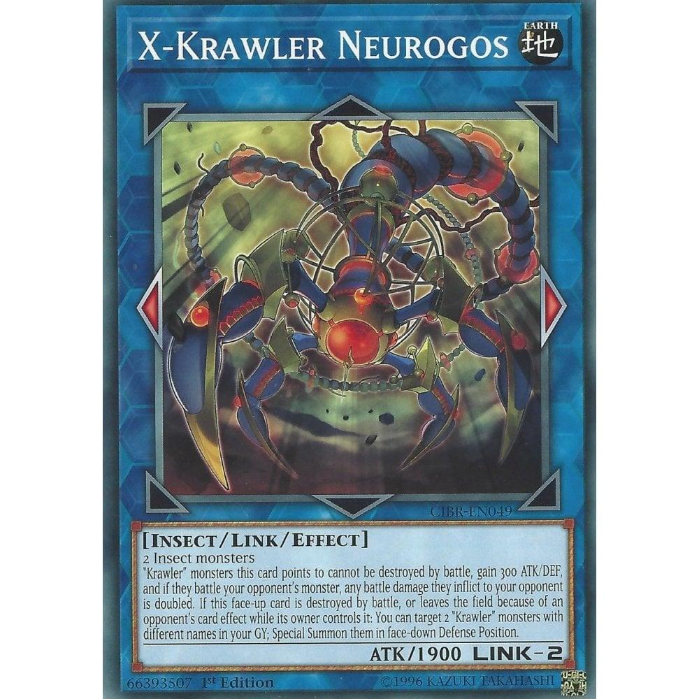 Krawler Dendrite CIBR-EN021 Common Yu-Gi-Oh Card English 1st Edition New